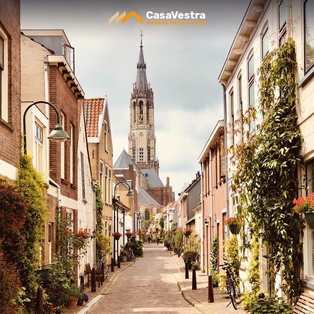 Deflt, Studentenstad, Stad, TU Delft, Nieuwe Kerk